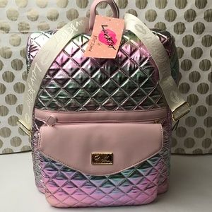 Betsey Johnson Backpack w/ removable crossbody